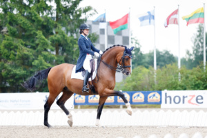Hanna Karasiova - ARLEKINO @ Cavalor Baltic Summer Cup, 15.07.2016 © Author: Kylli Tedre / www.kyllitedre.com